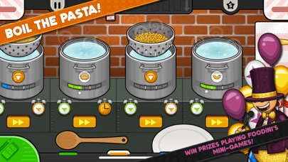 Papa's Pastaria To Go! screenshot 3