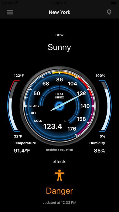 Heat Index - HI screenshot 4