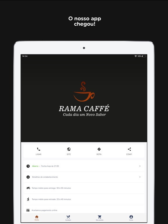 Rama Caffé screenshot 6