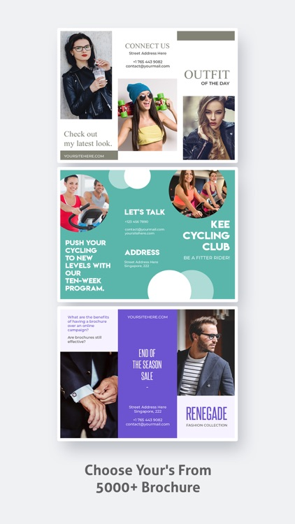 Brochure Maker - Pamphlet screenshot-4