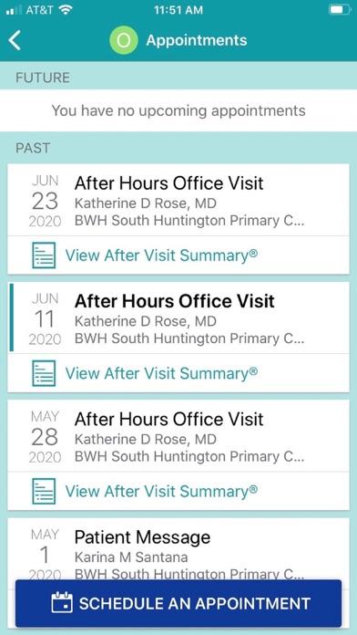 messages.download Patient Gateway software