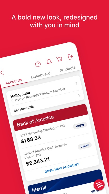 Bank of America Mobile Banking screenshot-0