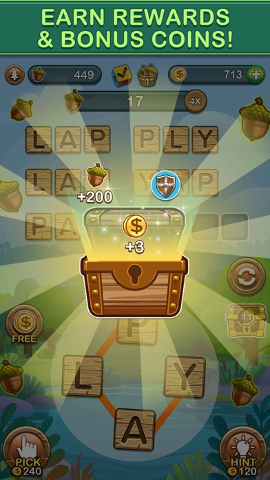 Word Forest: Word Games Puzzle screenshot 5
