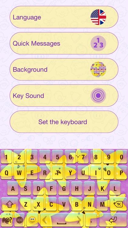 Cute Cartoon Keyboard Themes screenshot-3