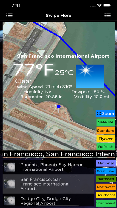 Instant Weather Stations Lite screenshot 1
