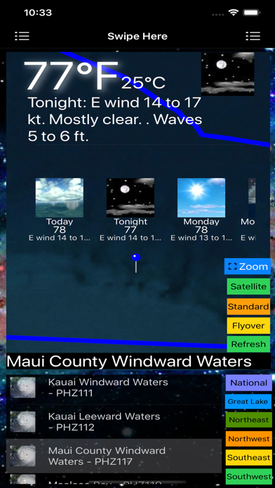 Instant Marine Forecast Pro screenshot 7