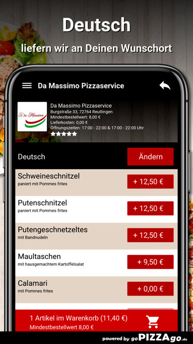 Da Massimo Reutlingen screenshot 6