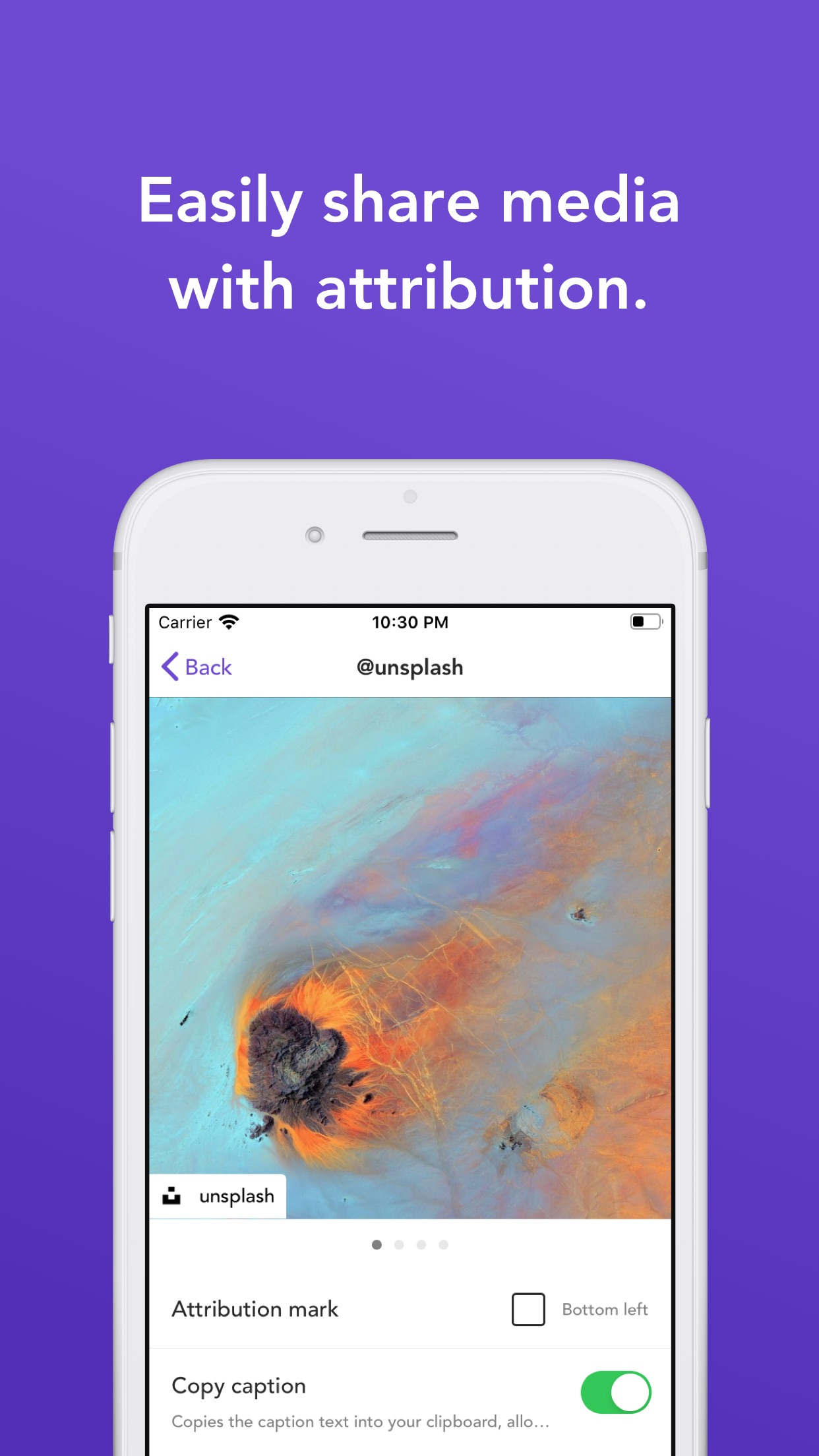 Screenshot do app Repost: For Instagram