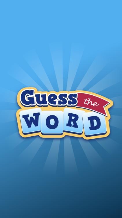 Guess the Word - Fun Game screenshot-3