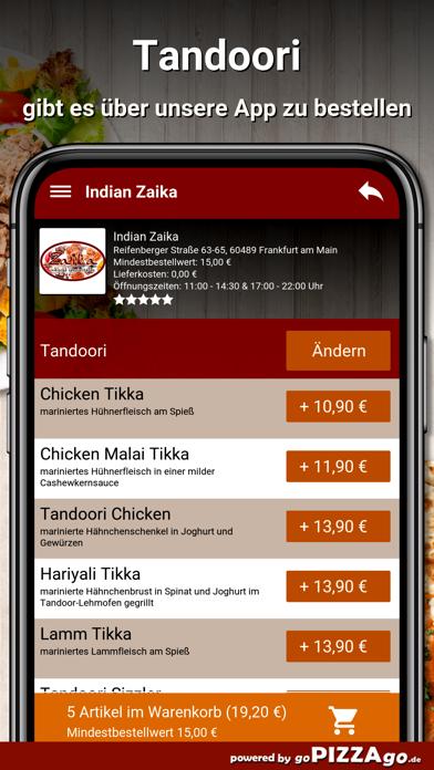 Indian Zaika Frankfurt am Main screenshot 6