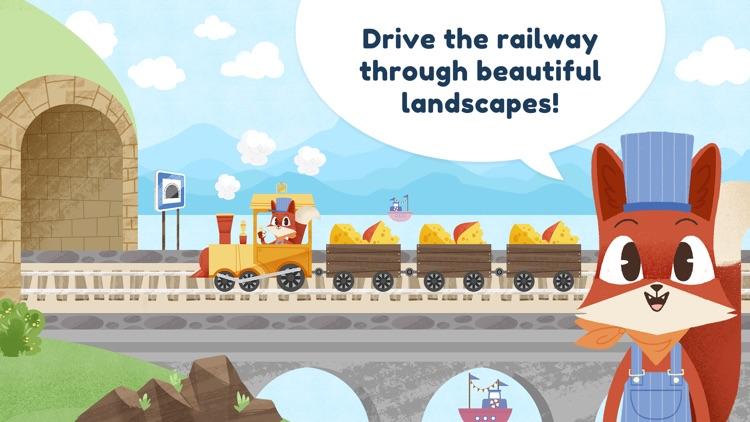 Little Fox Train Adventures screenshot-0