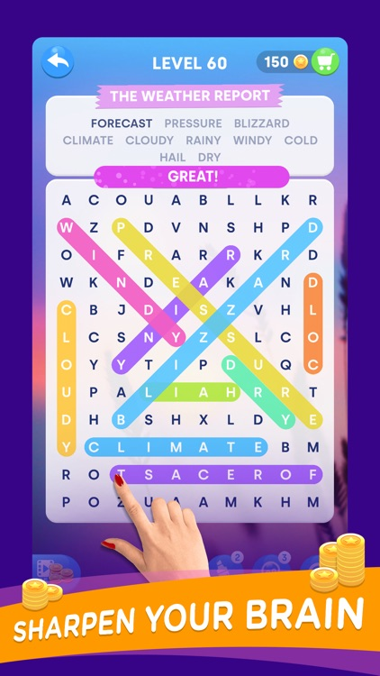 Word Search Color: Find Words
