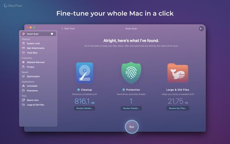 CleanMyMac-MAS Screenshot