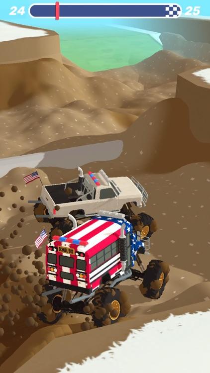 Mudder Trucker 3D screenshot-3