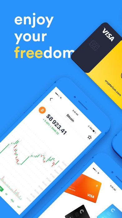 Crypterium | Bitcoin WalletСкриншоты 9