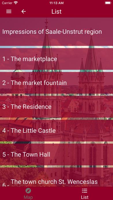 NAUMBURG TOURISM. screenshot 3