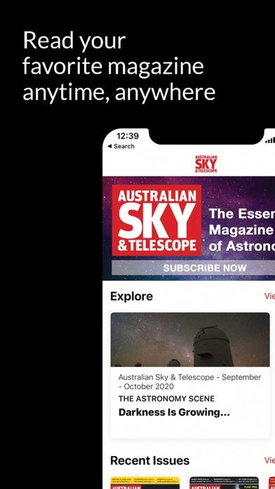 Australian Sky and TelescopeScreenshot of 2