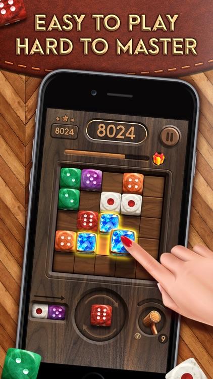 Merge Dice: Block Puzzle Jewel screenshot-0