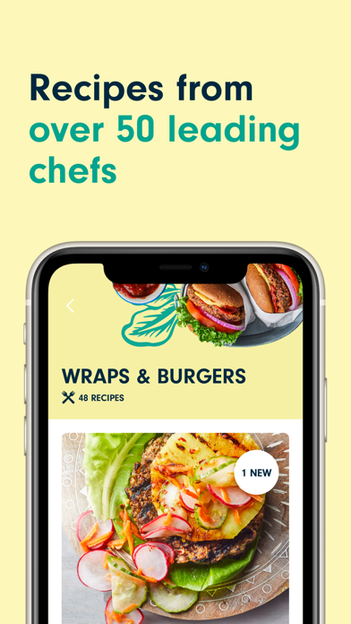 Forks Plant-Based Recipes Screenshot