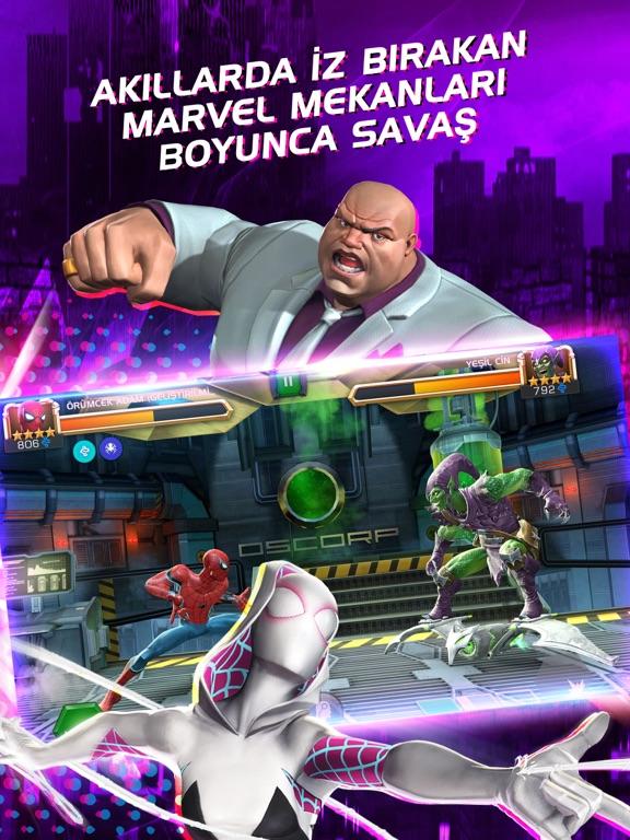 Marvel Şampiyonlar Turnuvası ipad ekran görüntüleri