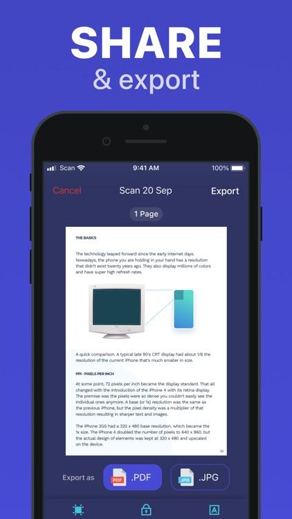 ScanMaster: Scan & Share Docs screenshot-4