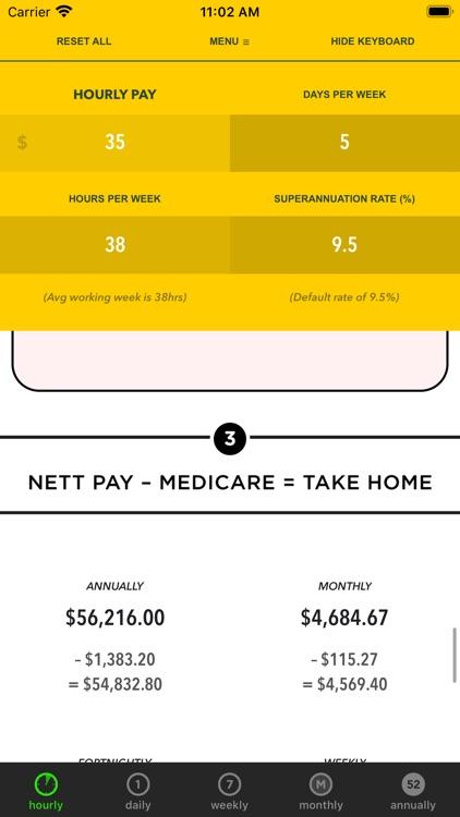 Whats my pay?AU 2019-2020 LITE screenshot-3