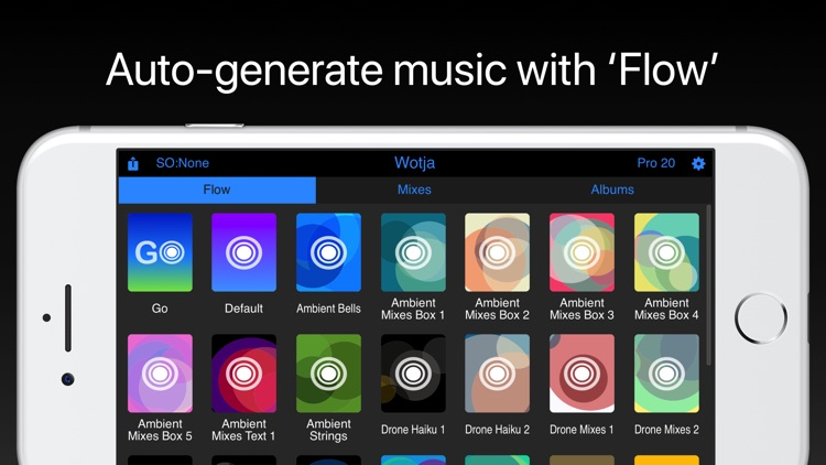 Wotja Pro 20: Generative Music screenshot-1