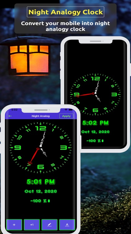 Analog Clock ~ Stand Face Time screenshot-5