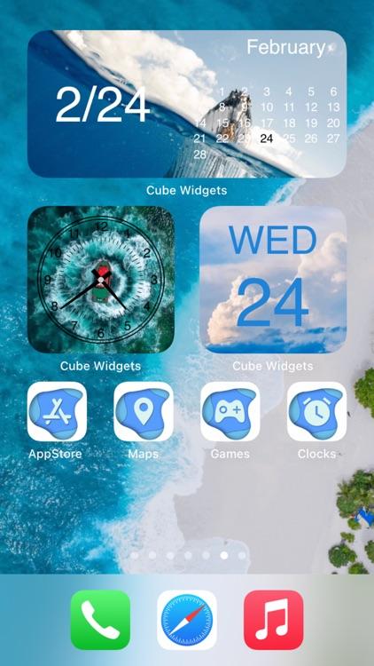 Cube Widget: Wallpaper & Icons screenshot-6