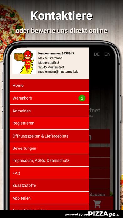 Pizza Flash Marburg screenshot 3
