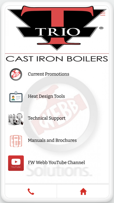 messages.download FW Webb Heat Design App software