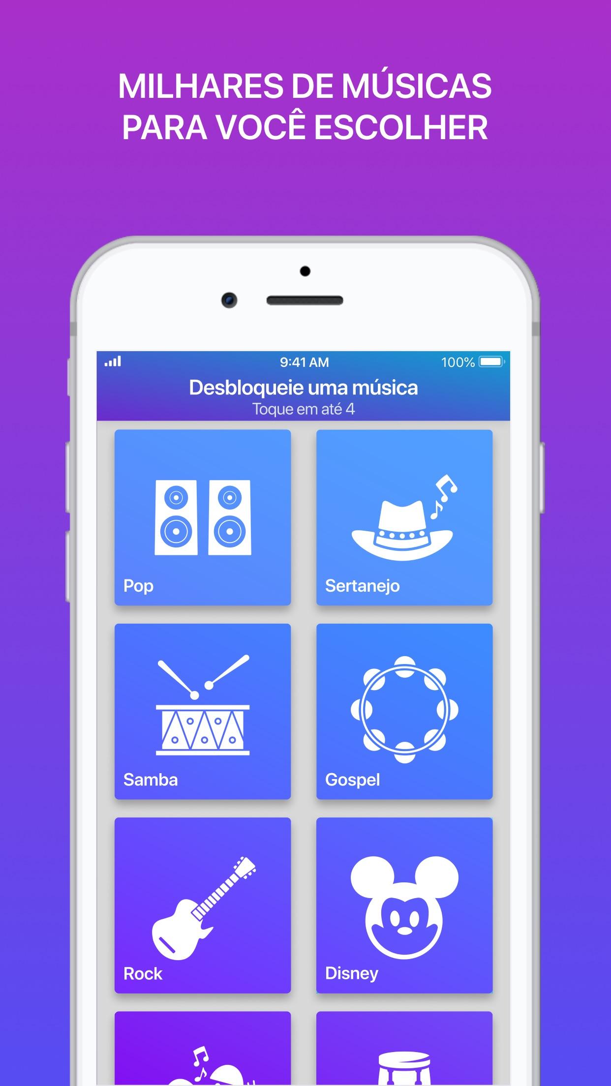 Screenshot do app Smule: Cantar social