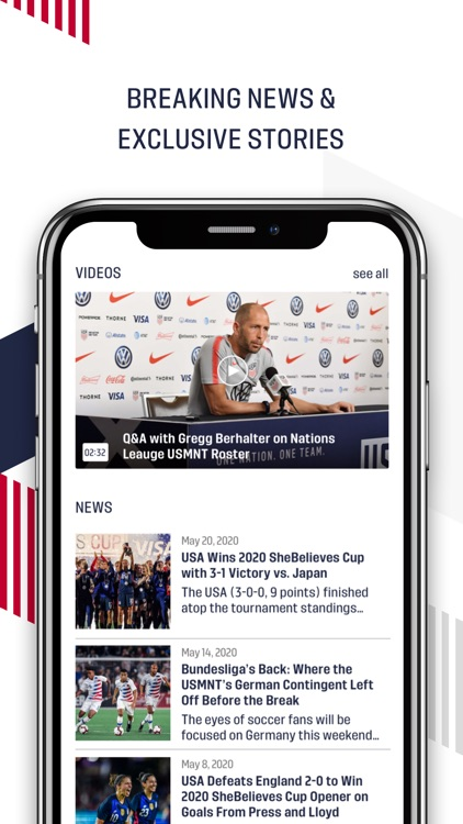 U.S. Soccer – Official App screenshot-2