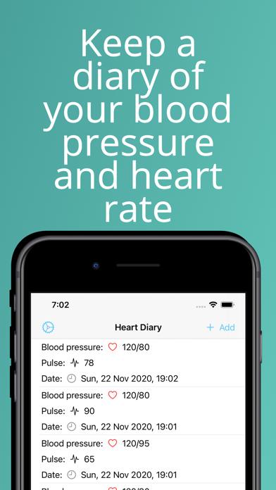 Heart Diary Screenshot