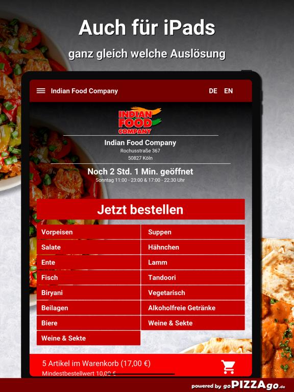 Indian Food Company Köln screenshot 7