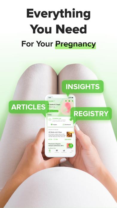 Nurture: Pregnancy + Baby App Screenshot