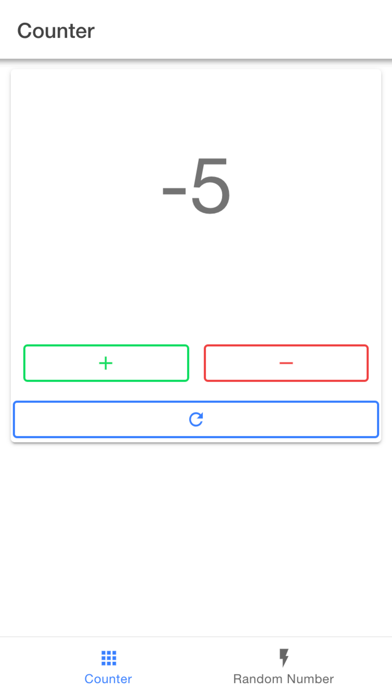 Hand Tally Counter Lap Counter screenshot 2