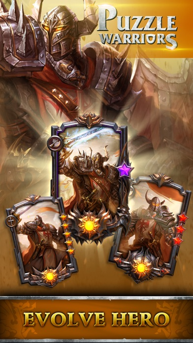 Puzzle Warriors RPG screenshot 4