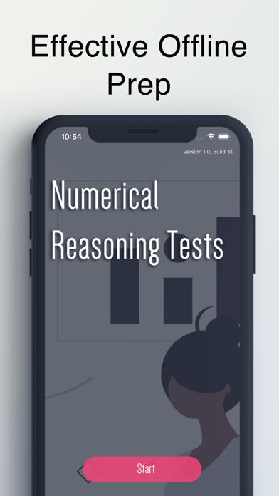 Numerical Reasoning Test screenshot 1