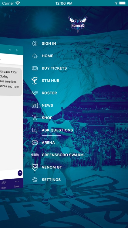 Charlotte Hornets screenshot-5