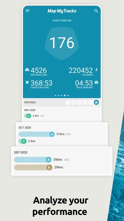 Map My Tracks: ride hike pro screenshot-3