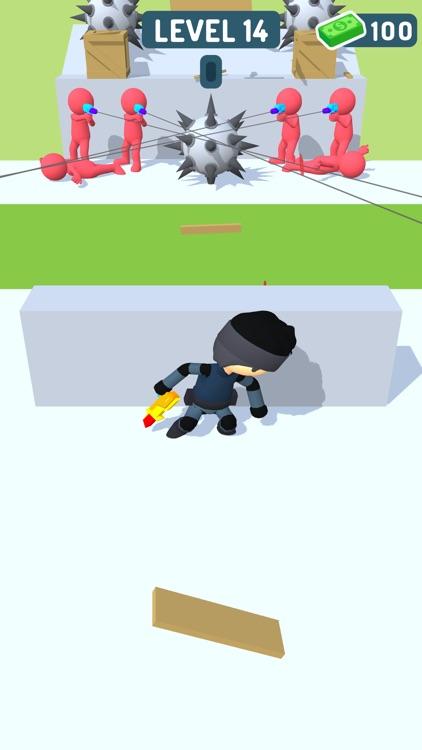 Sniper Runner: 3D Shooter screenshot-4