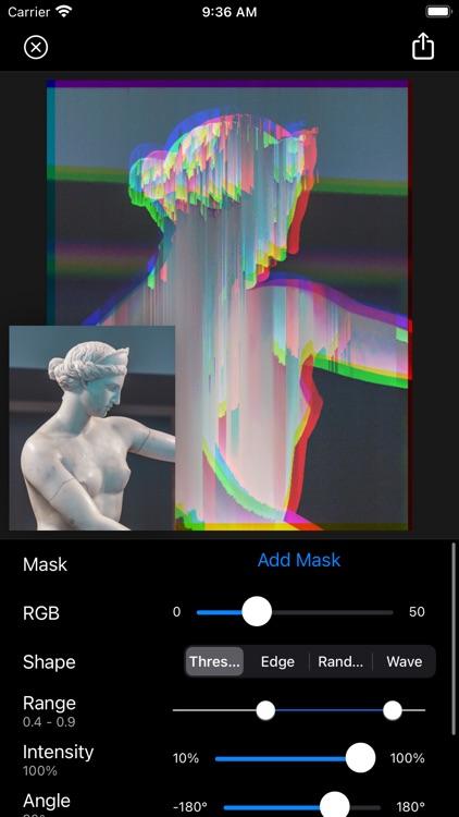 Glitch Fx - Pixel Sorting
