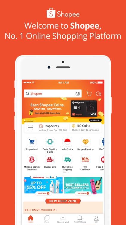 Shopee #1 Online Platform screenshot-0