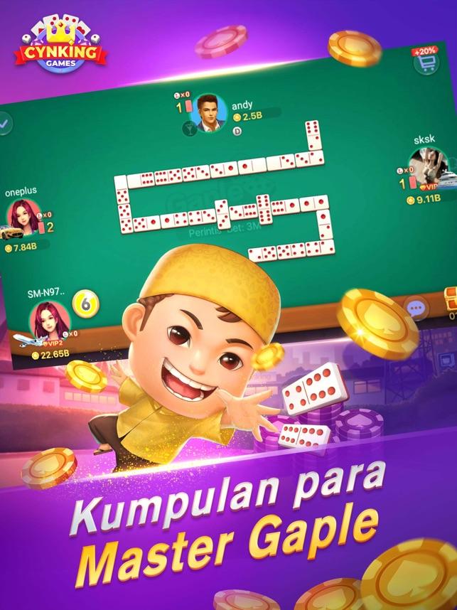 Gaple Domino Poker Online Na App Store