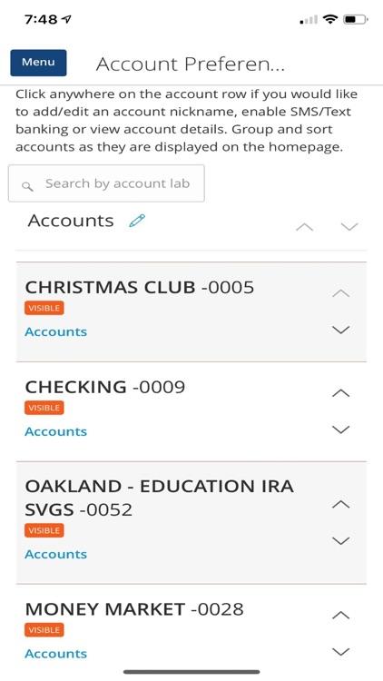 ILWU CU Mobile Banking screenshot-3
