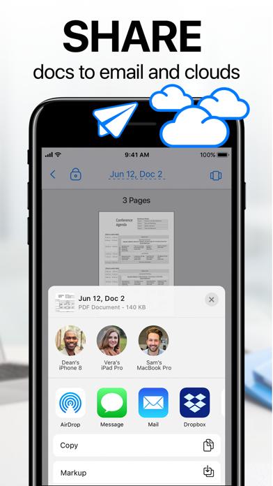 Unduh iScanner: PDF Docs Scanner App pada Pc