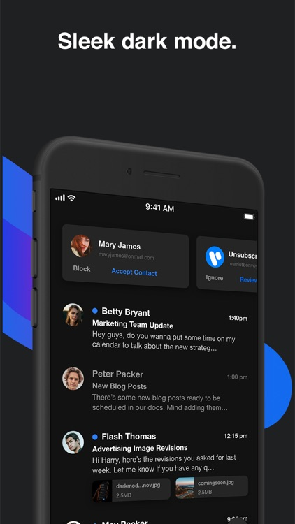 OnMail - Fast & Simple Email screenshot-9