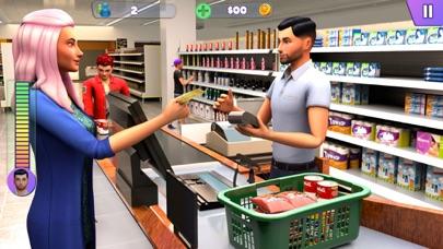 سوبر ماركت التسوق ألعاب 3Dلقطة شاشة2