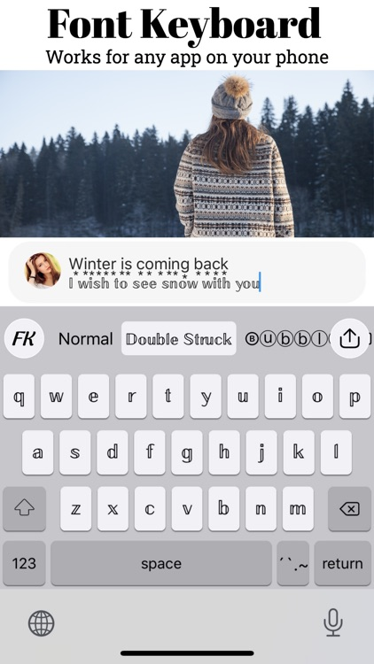 Fonts Keyboard PRO screenshot-4